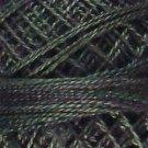 O536 Dark Spruce Pearl Cotton size 8  0536 Valdani Overdyed q6