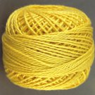 11 Sunflower Pearl Cotton size 8  Valdani Solid color q6