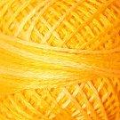 O12 Sunshine Glory - Pearl Cotton size 12 - Valdani Overdyed color 012 q3