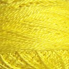 1308 Easter Yellow - Pearl Cotton size 12 - Valdani Solid color q6