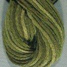 O575 Crispy Leaf - six strand cotton floss Valdani free ship US q3