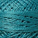 93 Bright Turquoise  Pearl Cotton size 8  Valdani Solid color q6