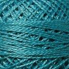 93 Bright Turquoise - Pearl Cotton size 12 - Valdani Solid color q6