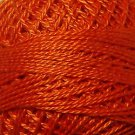 73 Peach Orange Dark - Pearl Cotton size 12 - Valdani Solid color q6