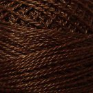 1645 Red Brown dark Cotton size 12  Valdani Solid color q6