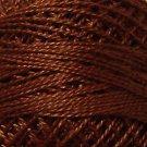 1642 Red Brown Medium-Light Cotton size 12  Valdani Solid color q3