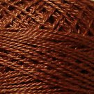 1641 Red Brown Light Cotton size 12  Valdani Solid color q6
