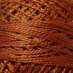 160 Light Maroon - Pearl Cotton size 12 - Valdani Solid color q6