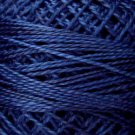 O515 Midnight Blue  Pearl Cotton size 12  Valdani Overdyed 0515 q5