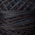 O511 0511 Black Sea  Pearl Cotton size 12  Valdani Overdyed q6