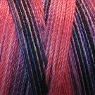 V103 Fuchsia Periwinkle - 35wt -  500m - Valdani Variegated Thread q1