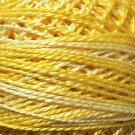 O551 Sunshine Pearl Cotton size 12  Valdani Overdyed 0551 q6