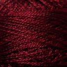 1334 Burgundy Pearl Cotton size 12  Valdani Solid color q6