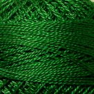 25 Christmas Green Pearl Cotton size 12  Valdani Solid color q6