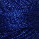 105 Luminous Rich Navy  Pearl Cotton size 12  Valdani Solid color q4