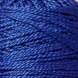 210 Sapphire  Pearl Cotton size 12  Valdani Solid color q6