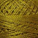 152 Gold  Pearl Cotton size 12  Valdani Solid color q4
