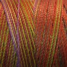 V21 Chimney Sparks Pearl Cotton size 12 Valdani Variegated  Vibrant q4