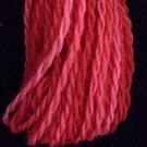 W2 Pink Reds Valdani Wool 10 yds skein size 8 (13.5/2)