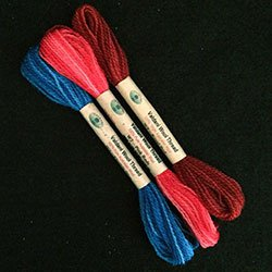 Popsicle Collection Valdani Wool 10 yds skein size 15 (26/2)