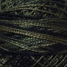O540 Black Olives Pearl Cotton size 8  0540 Valdani Overdyed q6