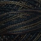 O531 Black Nut Pearl Cotton size 8 0531 Valdani Overdyed q6
