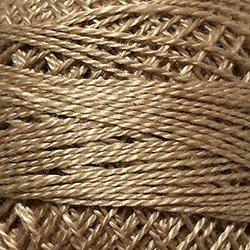 148 Luminous Beige medium - Pearl Cotton size 12 - Valdani Solid color q1
