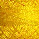 1310 Bright Yellow - Pearl Cotton size 12 - Valdani Solid color q6