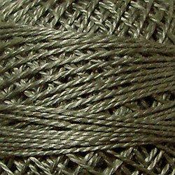 122  Light Medium Gray - Pearl Cotton size 12 - Valdani Solid color q6