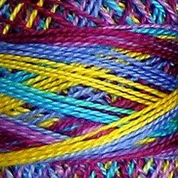 M32 Jewels Pearl Cotton size 12  Valdani Variegated q6