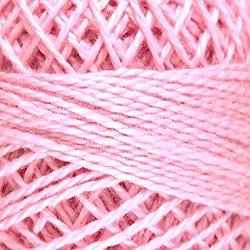 45 Baby Pink Medium Light Pearl Cotton size 8  Valdani Solid color q6