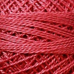 841 Old Rose Light Pearl Cotton size 8  Valdani Solid color q3