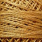 851 Antique Gold Light Pearl Cotton size 8  Valdani Solid color q6