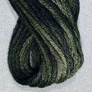 O540 - Black Olive six strand cotton floss 0540 Valdani free ship US q3