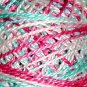 V108 Sparkling Stream Pearl Cotton size 12  Valdani Variegated q6
