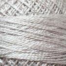 117 White Smoke  Pearl Cotton size 8  Valdani Solid color q6