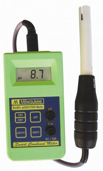 Milwaukee pH/EC/TDS Combined Meter/Tester high range