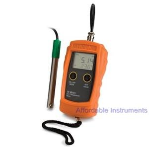 Hanna HI 99151 Portable Waterproof pH Meter for Beer