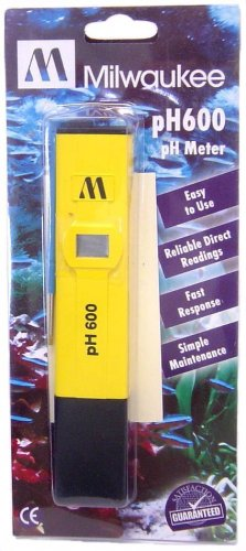 pH tester Milwaukee for Hydroponics pH meter 0-14 NEW