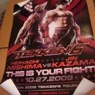 SDCC 2009 Tekken 6 Promo Poster