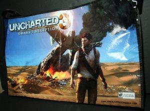 SDCC 2011 Uncharted 3 Drake's Deception/Starhawk Promo Bag