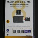 Sony Memory Stick Micro M2/w Adaptor (8GB)