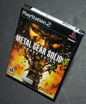 Metal Gear Solid 3 (Brand New-White Label Sealed)