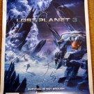 SDCC 2012 Lost Planet 3 Promo Poster (Autographed)
