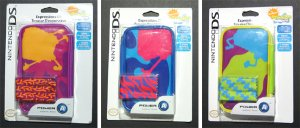 Set of 3 SpongeBob Squarepants Nintendo DS Lite Expressions Kit
