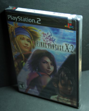 Final Fantasy X-2 (Brand New-White Label Sealed)