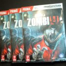 Lot of 3 Zombiu Prima Official Game Guide (Wii U)