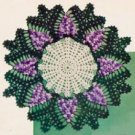Grape Doily Vintage Crochet Pattern