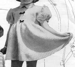 Child's Crochet Dress Size 2/3
