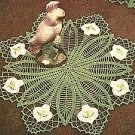 Flower Doilies Vintage Crochet Collection
